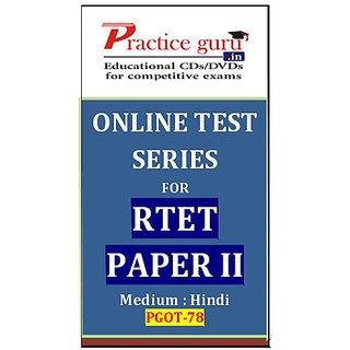 RTET Paper II PGOT-78