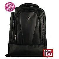 HP Laptop BackPack Black  Blue Line Polyster Bag 102