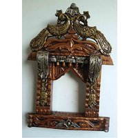 Antique Hand Made Jharokha - The Woods Hut