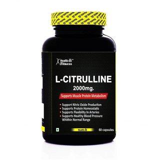 Healthvit Fitness L-Citrulline 2000mg 60 Capsules