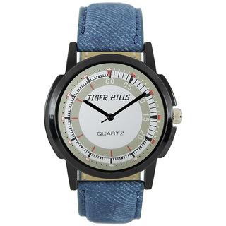 Tigerhills Watch Strap Normal Blue Model No-T196171