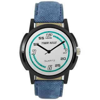Tigerhills Watch Strap blue Model No-T196172