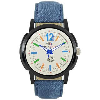 Tigerhills Watch Strap Blue Model No-T196176