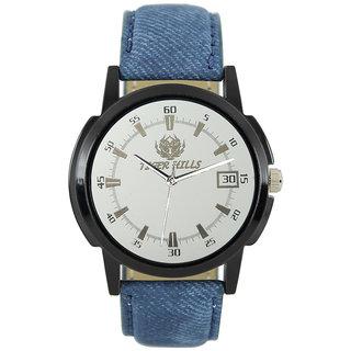 Tigerhills Watch Strap Blue Dial Black Model No-T1961710
