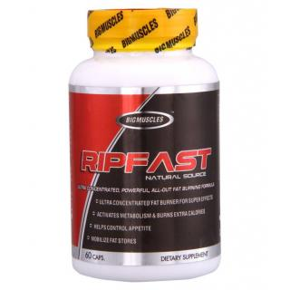 Big Muscles Ripfast Fatburner-60 Caps