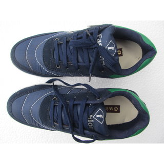 Blue NYN Dual Texture Sneakers Size 7 Only - 5059098