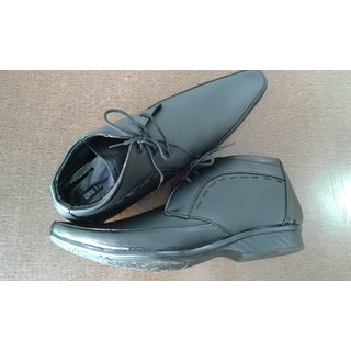 Black Party Wear Lether Shoes