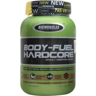 Big Muscles Bodyfuel Hardcore 2.2 Lb Strawberry
