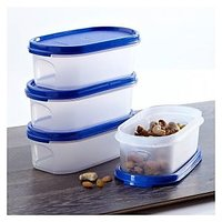 Tupperware Modular Mates Oval#1  (500 Ml) Set Of 4