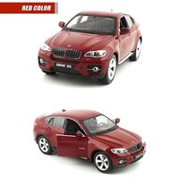 Bmw X6 Metal Pull Back Car With Lights And Sound JS