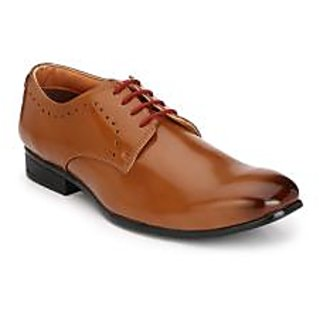 Hirels Tan Derby Lace Up