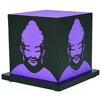 Shady Ideas Purple Nirvana Lamp