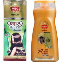 MSG Hair Care Ayurvedic Combo