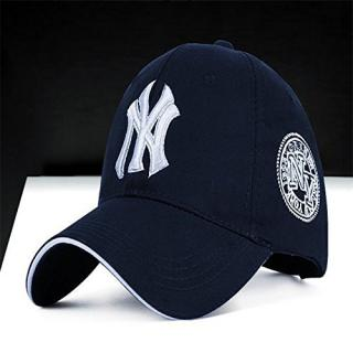 MENS SPORT N Y CAP DARK BLUE