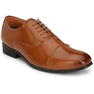 Hirels Tan Oxford Lace Up