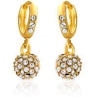 Mahi Royal Gold Sparklers Earrings For Women ER1100229G