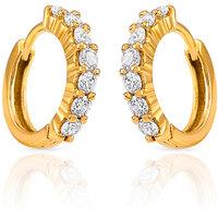 Mahi Gold Plated Radiance Delight Earrings (ER1102337G)