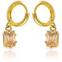 Mahi Gold Plated Dew Drops Earrings (ER1108712G)