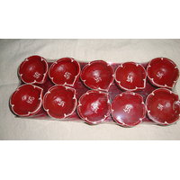 Simple Diya Set Of 10 Pcs