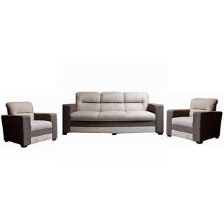 Marshal Fabric Five Seater Sofa Set ( 3+1+1 )