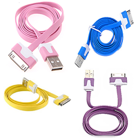 Callmate IPhone/iPod/iPad Flat Data & Charging Cable