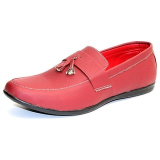 Men's Casual Loafer Shoe - Cherry - GV14J051