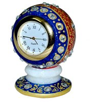 Jaipur Raga Beautifully Colored With Different Colors Of Marble Decorative Clock