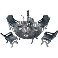 Unique Design Dining Table Chair Maharaja Set Decorative Gift