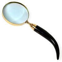 Real Brass Effective And Useful Magnifying Glass With Wooden Handle