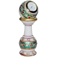 Jaipur Raga Beautiful Kundan Work Designer Pillar Watch