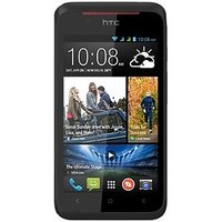 HTC Desire 210 Dual (Black) With Free Flip Cover