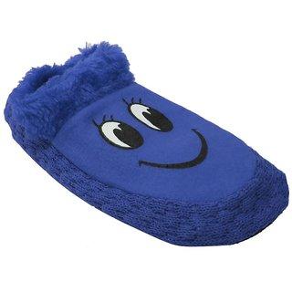 Tahiro Blue Socks Bootie For Girls - Pack Of 1