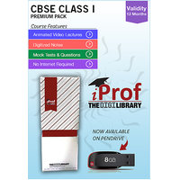 IProf's CBSE Class 1 Maestro Series Premium Pack On Pen-Drive