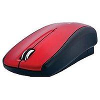 IBall UNI R1 USB Uni-Retractable Mouse (Black & Red)