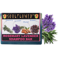 Soulflower Rosemary Lavender Shampoo Bar