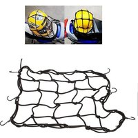 New High Quality Bike Motorcycle / Cycle / Scooter Cargo Bungee Net BLACK