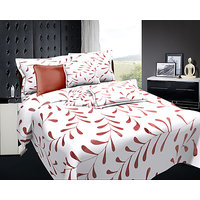 Zigma Collections Radisson 100% Cotton King Size Bedsheet - 5089896