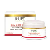 INLIFE Natural Day Gold And Whitening Face Cream (SPF 20) 50g