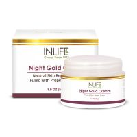 INLIFE Natural Night Gold Face Cream 50g
