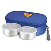 Jaypee Two Steel Container Lunch Box