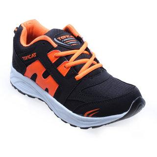 Tomcat Men BlkOrg Sports Shoes PARKER-01