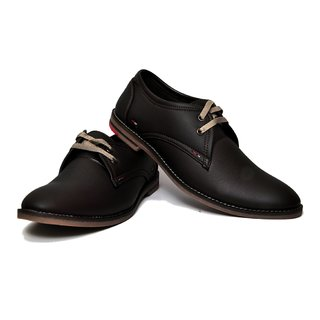 West Code Mens Synthetic Leather Semi Formal Shoes