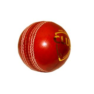 4 PC CLUB LEATHER CRICKET BALL-pack of 6