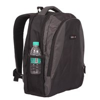 "College / School Bag - Backpack - Black & Grey Color Bags - 18"" - By Bags R Us"