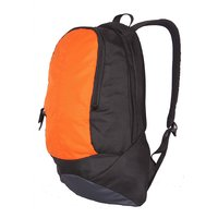 College / School Bag - Backpack -Orange & Black Color Unisex Bags - By Bags R Us