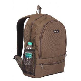 College / School Bag - Backpack - Brown Color Unisex Bags - By Bags R Us
