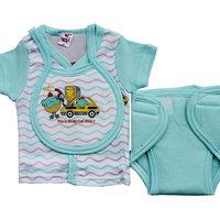 Little Hub Baby First Gift Set - Light Blue