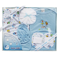 Baby Club Gift Set 5 Piece - Blue