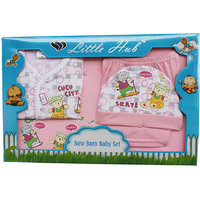 Little Hub Born Baby Gift Set - Pink