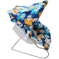 Carry Cot, Rocker And Rocker 9 In 1 - Blue & Green Color